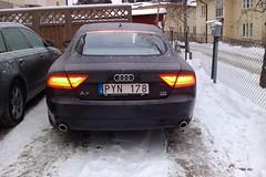 Audi A7 brake light