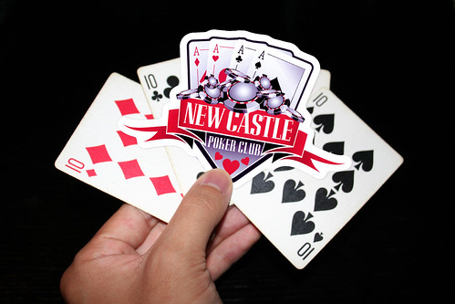 Newcastle Poker Club by StickerGiant, on Flickr