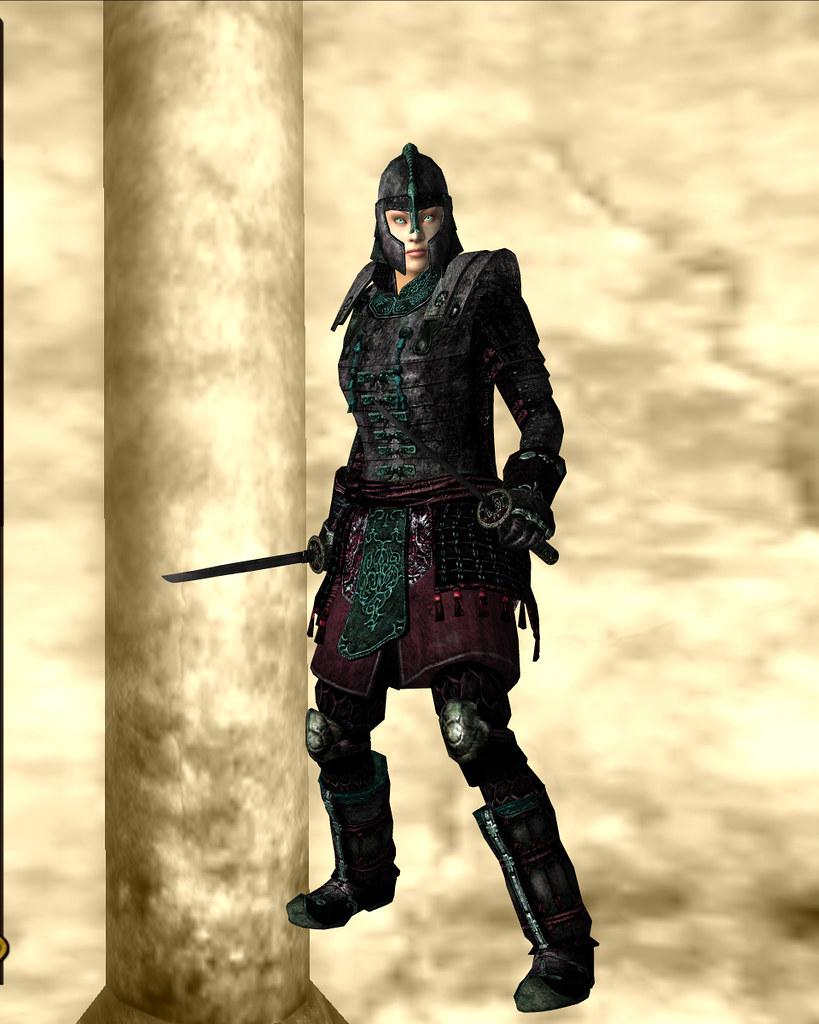 blades armor - akaviri jade 05