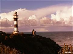 Faro Ortiguera (ASTURIAS) (celicom) Tags: faro mar asturias cantabrico coaña ortiguera
