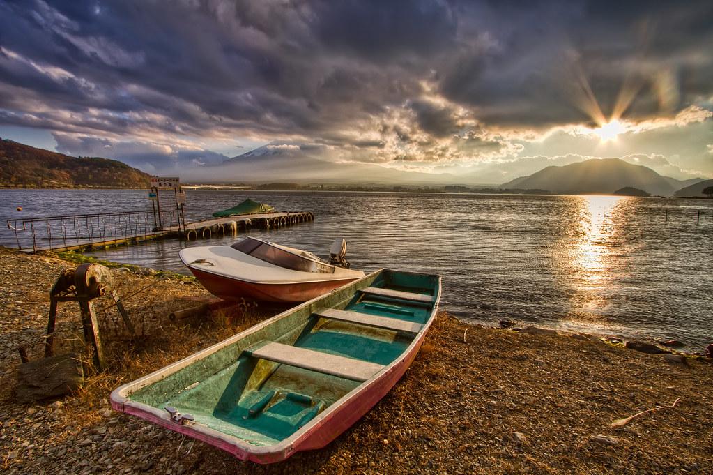 Boats of Kawaguchiko