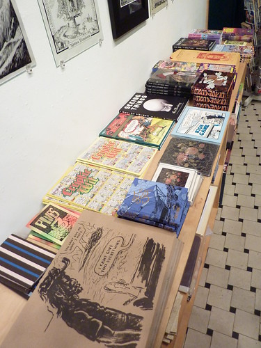 Medieval Thinkers exhibit, Fantagraphics Bookstore & Gallery, Dec. 11, 2010