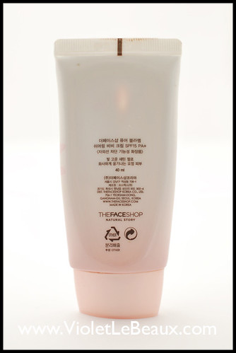 BB Cream Review- The Face Shop