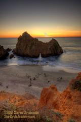 The Load Out [5_019805-9tm] (Steven Christenson) Tags: california longexposure sunset sand dusk bigsur photographers pacificocean coastal hdr pacificcoast pfeifferbeach photomatix stevenchristenson photographytheamusingcom starcircleacademycom