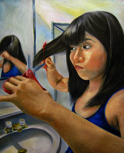 Bad Hair Day - Oils