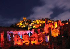 The Golconda Lights! (AbhijeetVardhan) Tags: show longexposure light india history tourism composite architecture nikon fort sound hyderabad andhra pradesh golconda d90 qutubshahi kakatiya