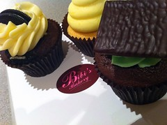 Cupcakes from Bibi's Bakery, Hanover St, Edinburgh