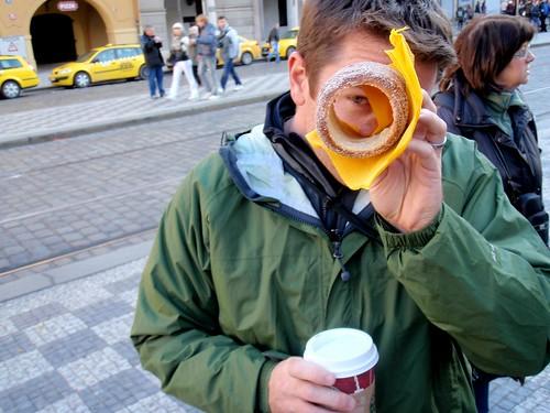 Trdelnik Pastry in Prague