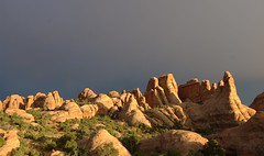 After the storm (Sasha Vasko moved to Ipernity) Tags: red landscape nationalpark sandstone pentax kitlens arches archesnationalpark formations pentaxda1855 k100d