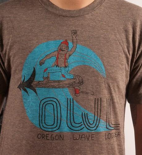 New Oregon Surf shirt