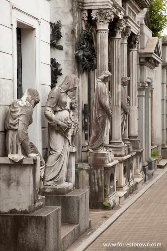 Recoleta Cemetery Statue