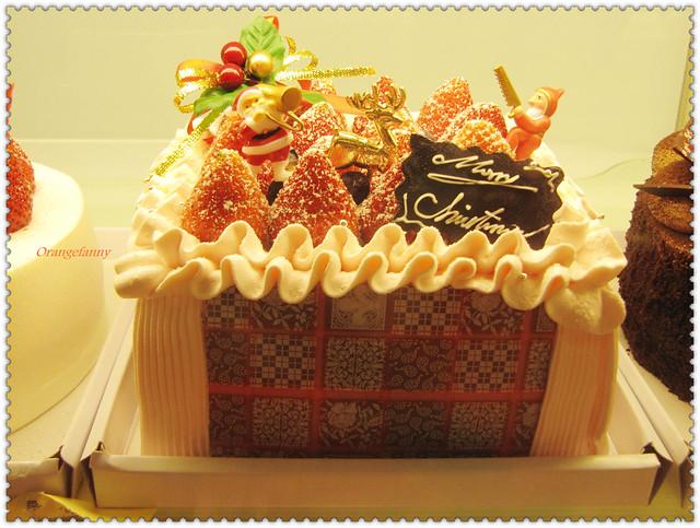 355篇 聖誕草莓蛋糕 2010光陰地圖