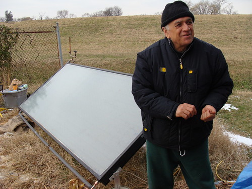 Dr. Amir Abtahi and Solar Panel