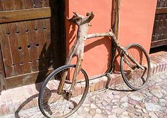 ........ (thaflix) Tags: bike mexico wooden random customized tijuana wtf tj