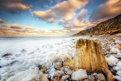 Ecume [Explore 77] (Vincent.RCT Photographies) Tags: seascape waterscape sea ocean ecume hdr high dynamic range bw 110 nikon d70s haaghun tamron 1024 france photographies haaghungmailcom nikond70s photography