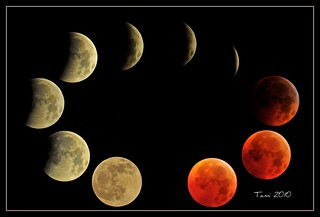 Total Eclipse of the Moon  2010