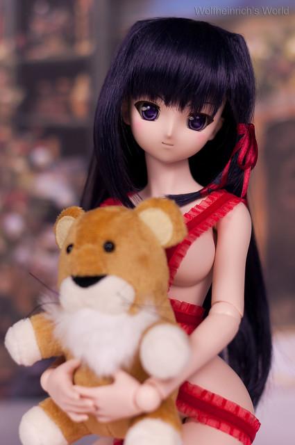 Dollfie Dream DD Kiriha 紅瀬桐葉 Christmas Cosplay