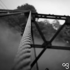 (Stromboly) Tags: bw puente cuerda acero xalapa xico