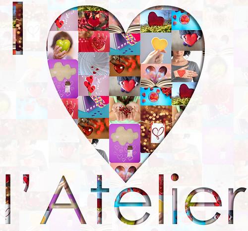 mosaico I Love l'Atelier ]|[