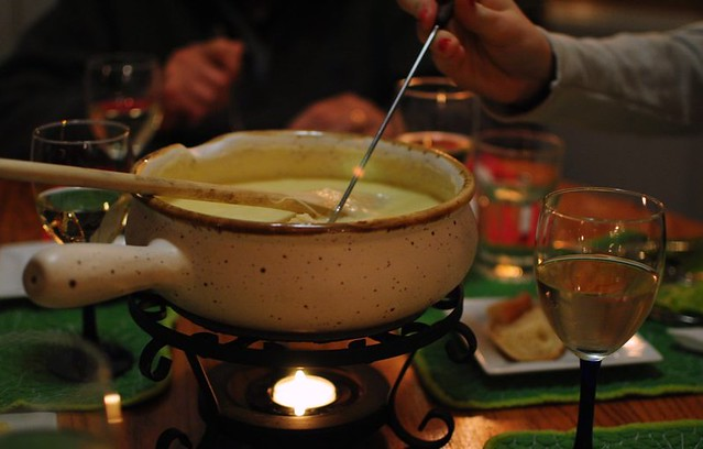 cheese fondue night!