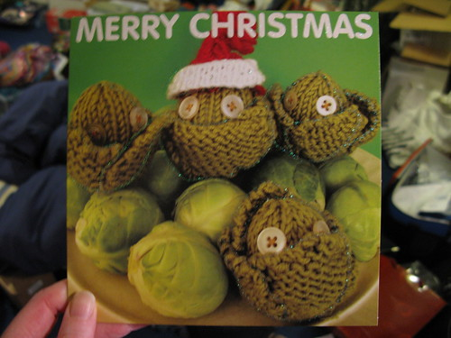 Knitted sprouts