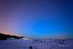 _MG_9849 (May Elin Aunli) Tags: winter sea snow norway stars norge vinter snø sjø grimstad torungen stjerner fevik mayelincom