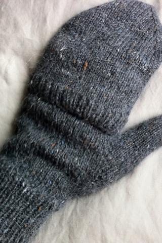 Knitting Pattern For Flip Top Mittens : HappyGoCrafty