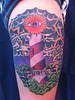 lighthouse tattoo Tattoo by Nate