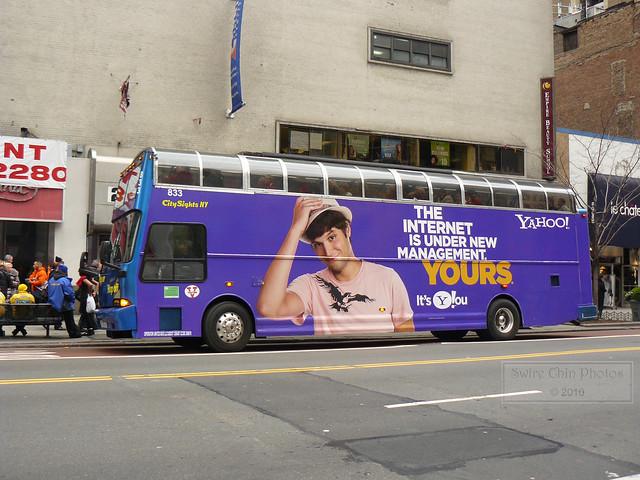 CitySights NY Tour Bus