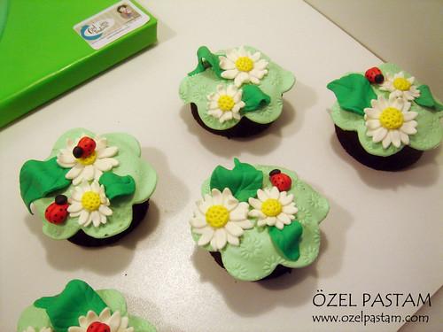 Neva'nın Müzikal Pastası ve Bahar Kapkekleri