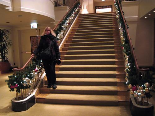 Me on Peninsula Stairway