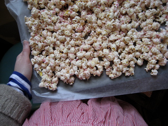 peppermint popcorn!