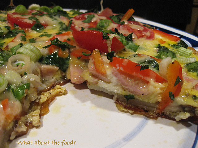 Veggie-layered Fritatta