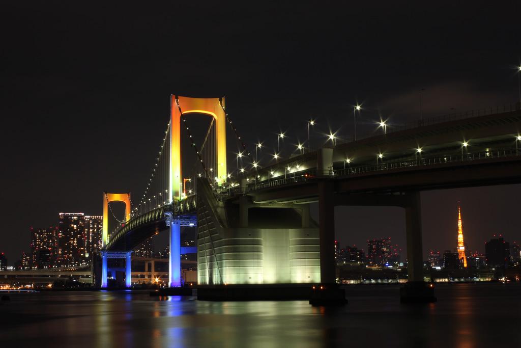 Rainbow bridge illumination 03(TOKYO)