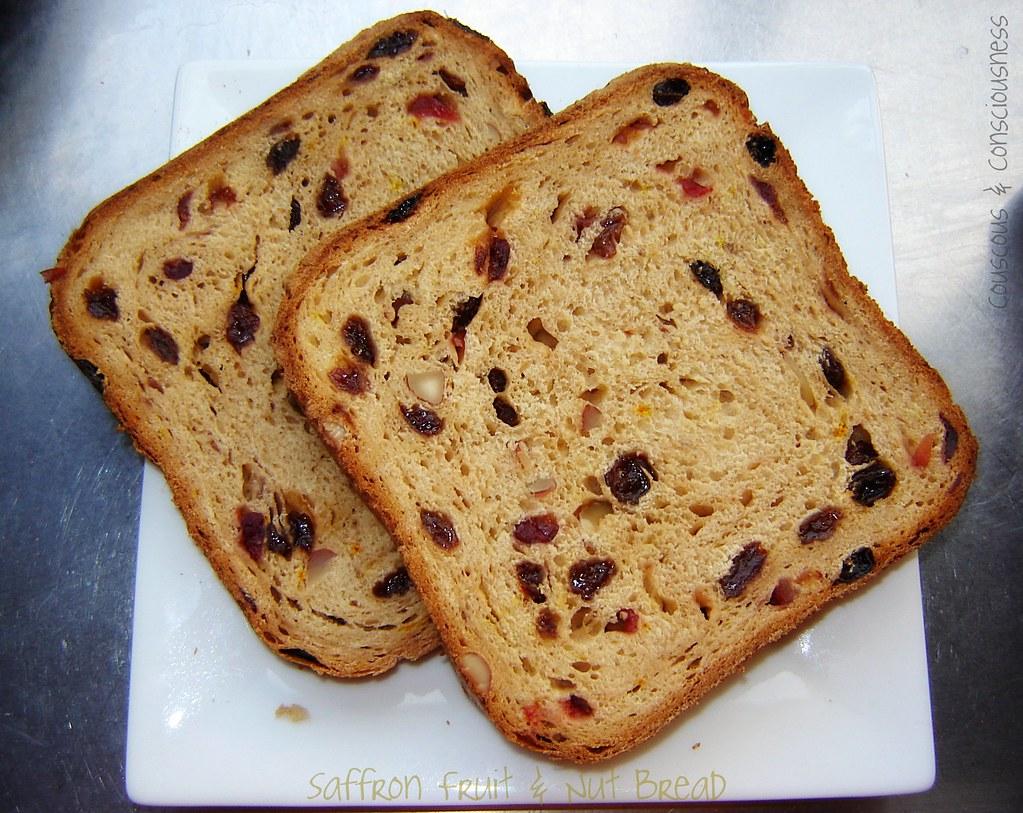 Saffron Fruit & Nut Bread 1