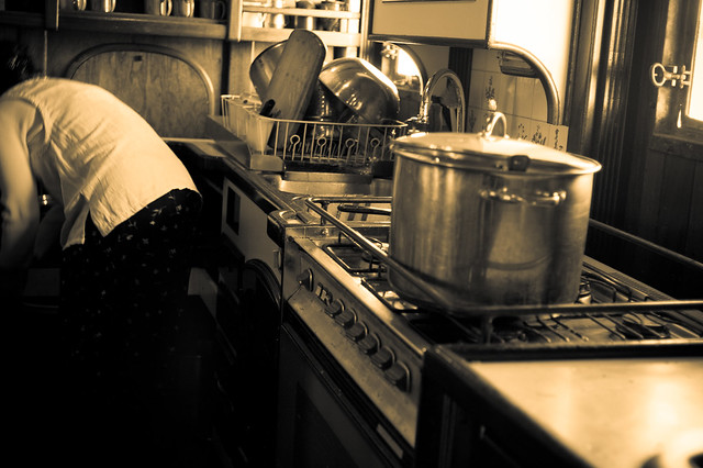 """Even at her most solitary, a cook in the kitchen is surrounded by generations of cooks past, the advice and menus of cooks present, the wisdom of cookbook writers."""