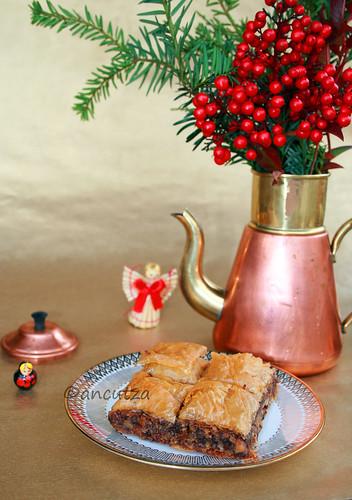 Ricetta con Foto Baklava al cioccolato e noci