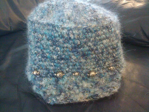 Crochet hat bead