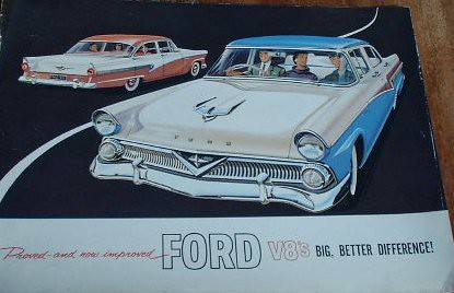 1958 Ford Customline Star Model Brochure