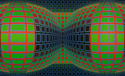 "Victor Vasarely • <a style=""font-size:0.8em;"" href=""http://www.flickr.com/photos/30735181@N00/5324142316/"" target=""_blank"">View on Flickr</a>"