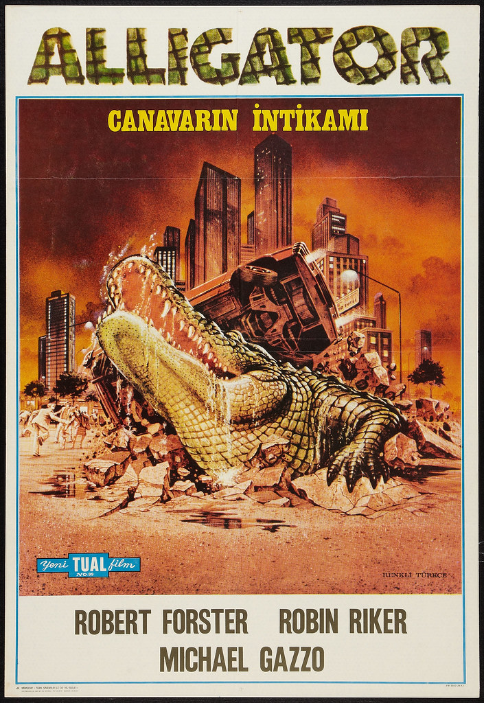 Alligator (BLC, 1980) Turkish Poster