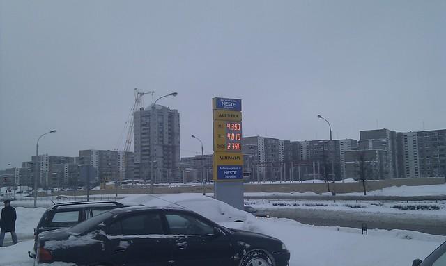 #5/365 | Žiemiškos degalų kainos