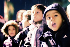 Ya vienen 189/365 (Beatriz Pitarch) Tags: cold boys rain kids lluvia waiting candid nios zaragoza surprise hood invierno adidas childs espera frio sorpresa chicos cabalgata reyesmagos expectation aliento capucha robado project365 undertherain expectacion abrigados 5deenero visperadereyes bajolalluvia
