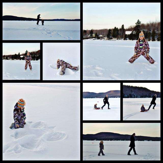 D'hiver et de lac...