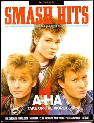 Smash Hits Magazine - a-ha