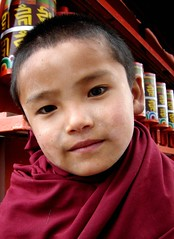 Portrait of a Little Monk! (pallab seth) Tags: portrait india face digital photo nikon asia child emotion buddha indian compassion monk buddhism coolpix sikkim tibetian p3 saarc nikoncoolpixp3 nikonp3 ravangla southsikkim portraitworld rabangla karmatheckhlingmonastery natgeofacesoftheworldgroup