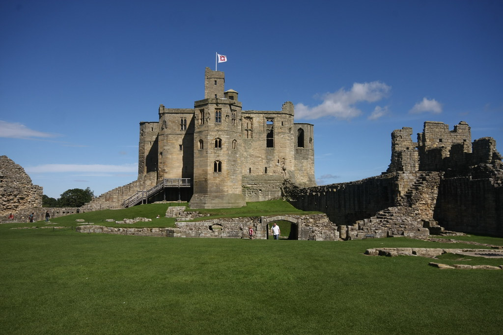 Warkworth, Castle Donjon