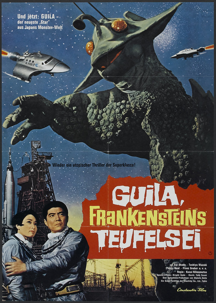 The X from Outer Space (Constantin Film, 1968). German