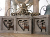 3 petits cadres d'hiver - 3 small winter frames (Lhise) Tags: home crossstitch maison pointdecroix showyourhouse