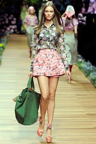 D & G short skirt